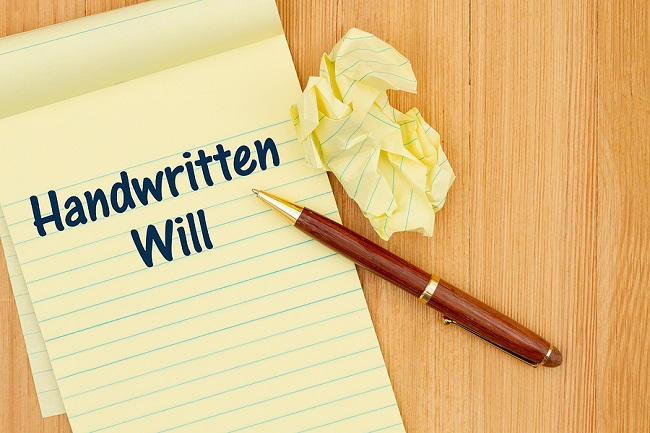 how handwritten wills can cause headaches